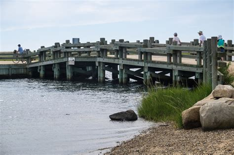 Chappaquiddick Kennedy Bridge The Vineyard Gazette Martha S Vineyard News Selectmen Look Askance At Location Work For