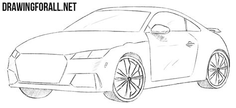 how to draw a jaguar car drawingforall net how to draw a coupe car drawingforall net