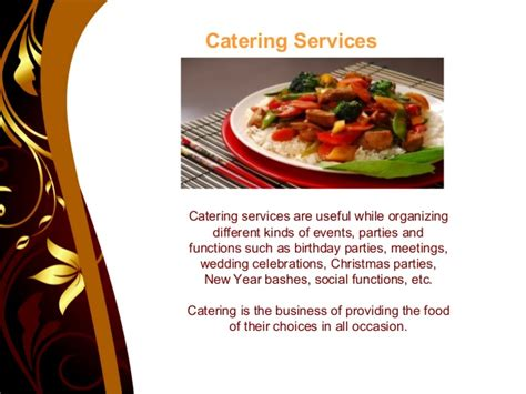 catering template ppt wedding venues ppt