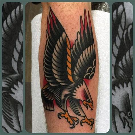 50 traditional eagle tattoo designs for men old ideas