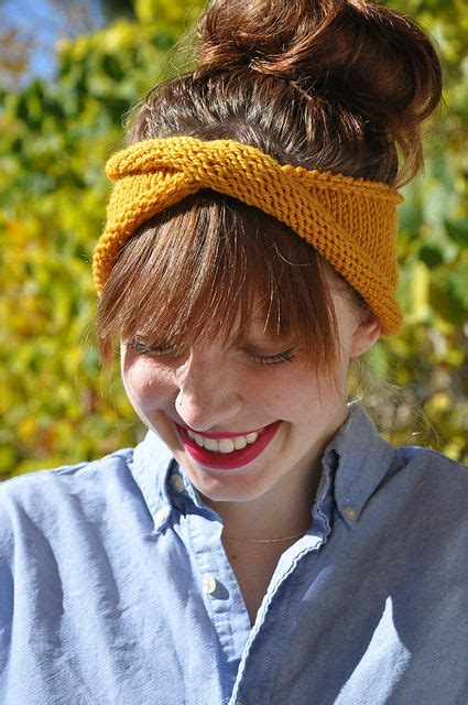 8 Cutest Hairbands by Free Pattern From Ravelry The Twisty Rolly Headband
