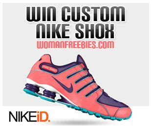 Nike Free Giveaway - win a free pair of nike shox fabulessly frugal
