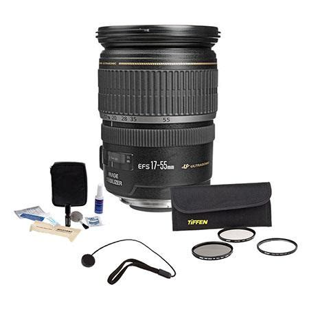 Optic Pro Lens Cap Universal 55mm by Canon Ef S 17 55mm F 2 8 Is Usm Lens Filter Bundle Usa