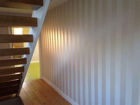 Wallpaper For Livingroom Lille Linen Stripe Wallpaper Wallpaper Pinterest