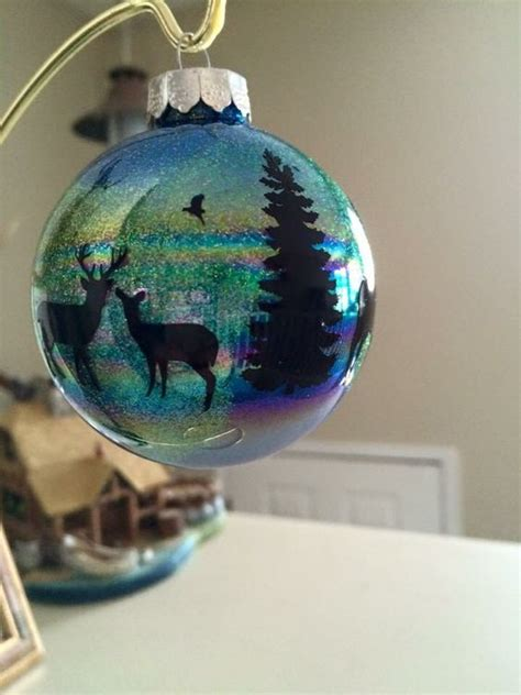 northern lights ornaments northern lights ornaments made with clear iridescent bulbs