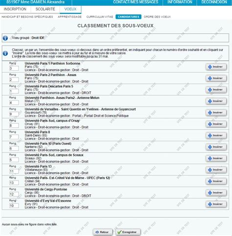 Lettre De Motivation Voeux Apb Admission Postbac Quelle Est La Diff 233 Rence Entre Une Candidature Et Un V蜩u Sur Apb