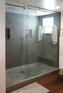 serenity glass shower door senior sliding shower door system for residential pro