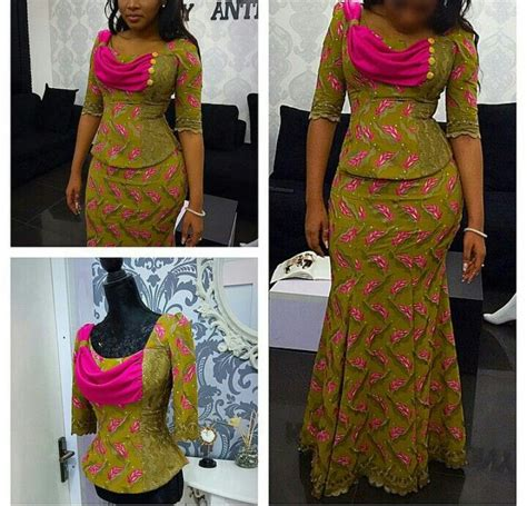 nigerian fashion design 142 best images about ankara dresses on pinterest