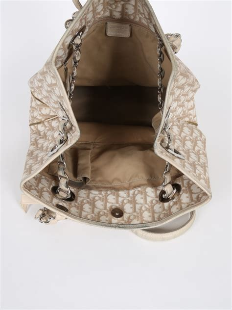 Christian Trotter Romantique Tote Bag by Trotter Romantique Tote Bag Beige Luxury Bags