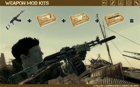 fallout 3 best weapon mod kits at fallout3 nexus mods and community