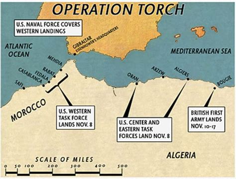 operation torch 1942 the mission 1 lighting the torch history through gaming