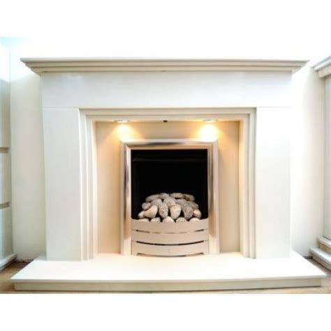Fireplace Step three step marble fireplace