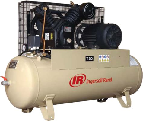tank mounted  hp ingersoll rand small air compressor
