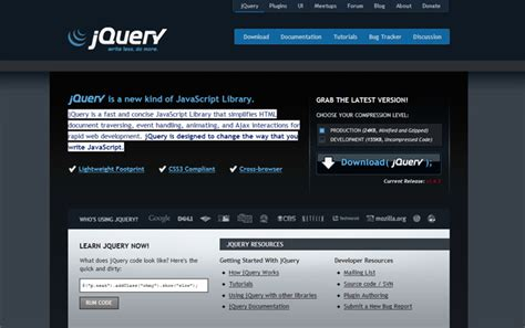 jquery design guidelines a beginner s guide to jquery creative individual design blog