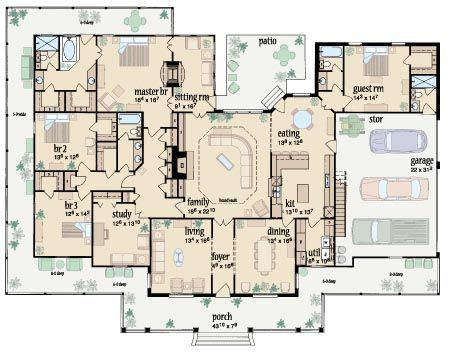 Ranch Style Floor Plans With Wrap Around Porch by Discover And Save Creative Ideas