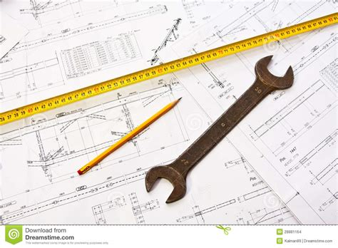 engineer tools stock images image 28881164