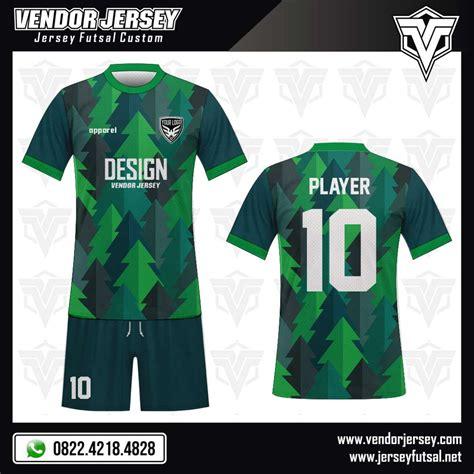 Seragam Futsal Kostum Futsal Apik desain seragam baju futsal forestogren vendor jersey