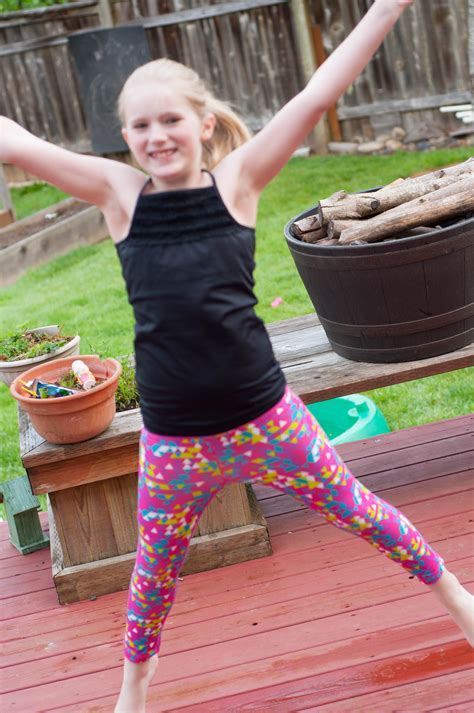 small teen limeapple activewear for young girls available at costco