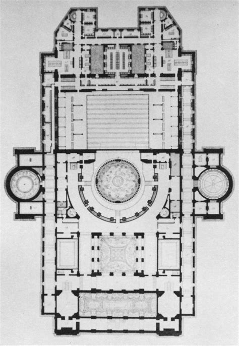 Architect Floor Plans File Palais Garnier Plan At The Highest Floor Level