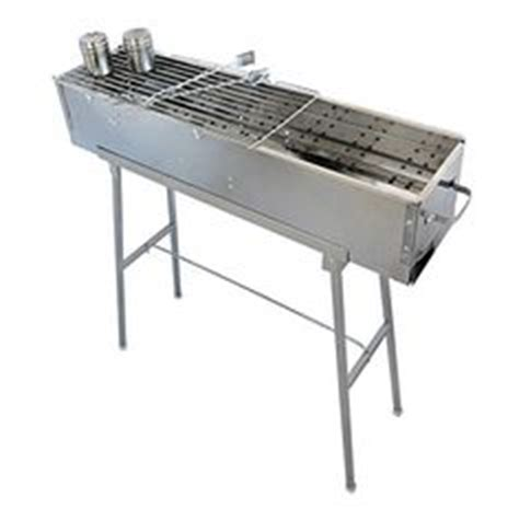 Cook Master Bbq Skewer Stainless Tusukan Kebab Satay Stainless B50 Japanese Yakitori Charcoal Grill 30 6 35 4 X 7 0 X H6 3in 900x180xh160mm Ebay Bar