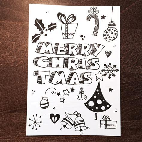 doodle zeichnen doodle diy doo 7 ideen zum weihnachtskarten zeichnen