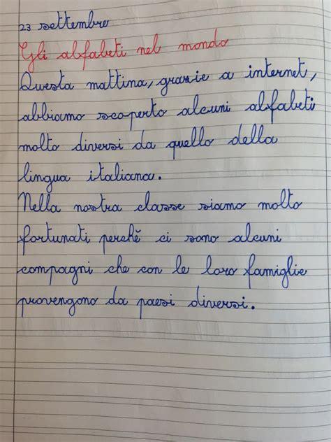 lettere in corsivo da copiare apedario alfabeti nel mondo e in classe
