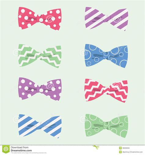 Dress Tutu Polkadot Pita patterned bow ties vector illustration royalty