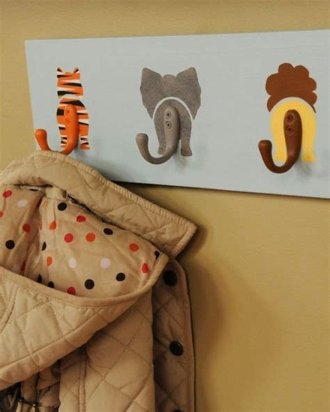 coat hook ideas diy animal tails coat rack decoist