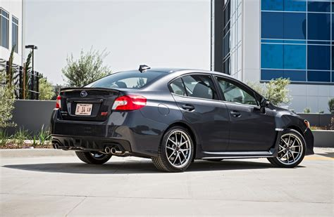 subaru sti 2016 2016 subaru wrx sti and wrx s offer starlink infotainment