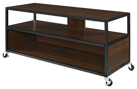 entertainment center on wheels modern mobile tv stand entertainment center cart with 4