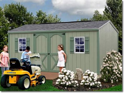 cypress    wood shed kit