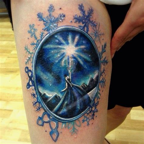 frozen tattoos that prove people will never let the movie go