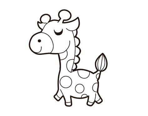 imagenes de jirafas para ninos dibujo de jirafa presumida para colorear dibujos de