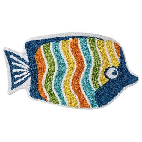 Fish Bathroom Rug Circo Fish Bath Rug 20x34 Target