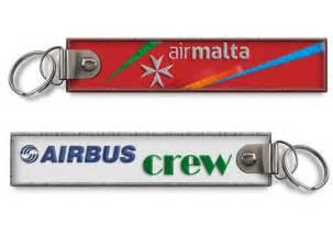 air malta crew baggage keychain x2 ebay