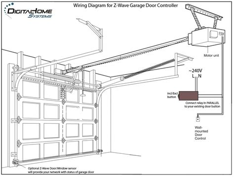 genie garage door sensor wiring diagram genie garage door opener sensor wiring diagram http