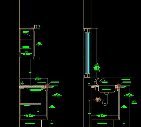 kitchen cabinet detail detail kitchen cabinets in autocad drawing bibliocad