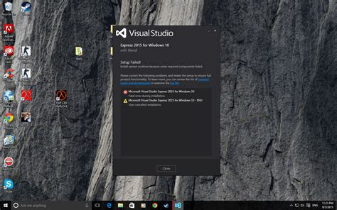 installing bootstrap visual studio 2015 failed visual studio 2015 installation visual studio
