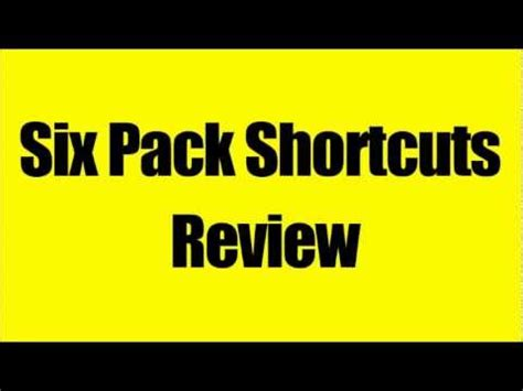 top 9 six pack shortcuts workouts mike chang how to