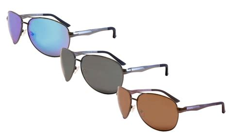pugs aviator sunglasses pugs aluminum aviator sunglasses groupon goods