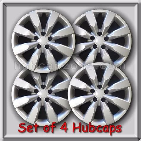 2014 Toyota Corolla Hubcaps Set Of 4 16 Quot Silver Toyota Corolla Hubcaps 2014 2015