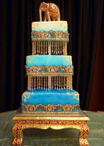 wedding cake purple and orange images