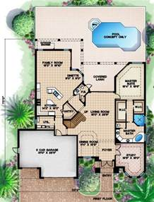 Vacation House Plans by House Plans With Decks Cottage House Plans
