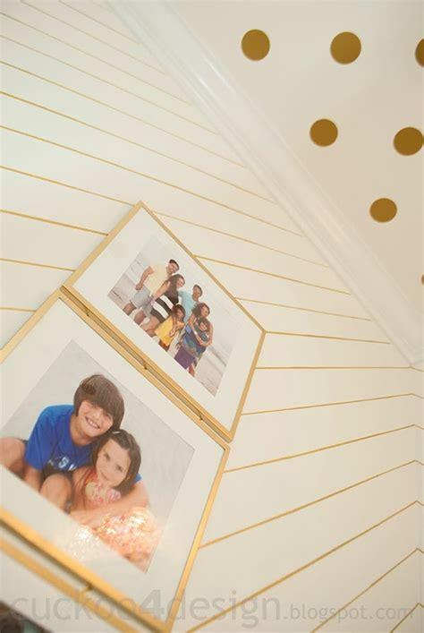 Guess Polka 03 Gold gold sharpie walls and vinyl polka dot ceiling cuckoo4design
