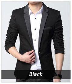 Blazer Navy Jas Pria Slimfit Korean Style Casual Pesta Kerja mens casual dress slim fit stylish one button suit blazer jackets coat blazer jacket