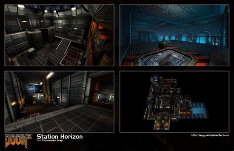 doom3 map station horizon addon doom iii mod db