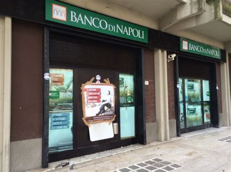 banco di napoli filiale san nicandro rubato bancomat alla filiale banco di
