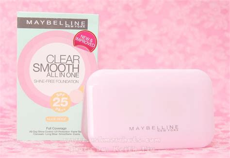 Maybelline Clear Smooth Shine Free Clear Stick Foundation askmewhats top philippines skincare