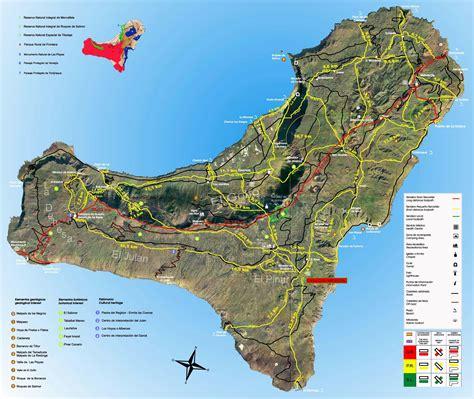 el reino de hierro el hierro plan de la ciudad mapas imprimidos de el hierro espa 241 a con posibilidad de descargar