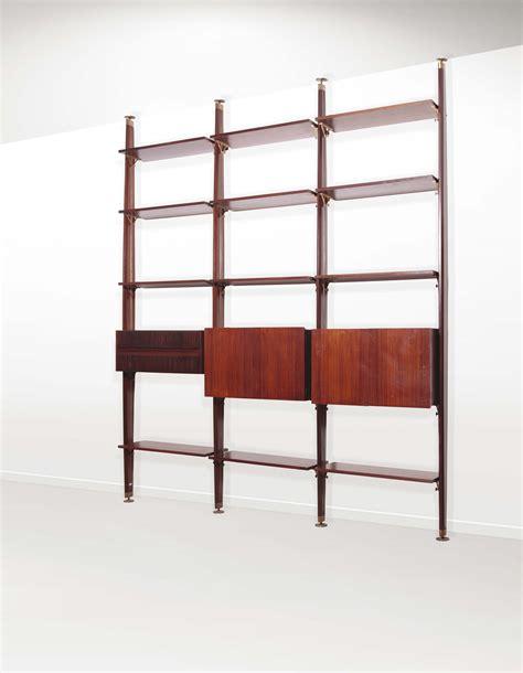 libreria modulare libreria modulare in legno con ripiani a giorno e mobili